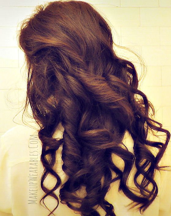 Romantic, Long-Lasting Curls for Long Hair Tutorial | Valentines Day  Hairstyle
