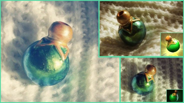 the healing salve, Dota2, pottery pendant for essential oil Аромакулон