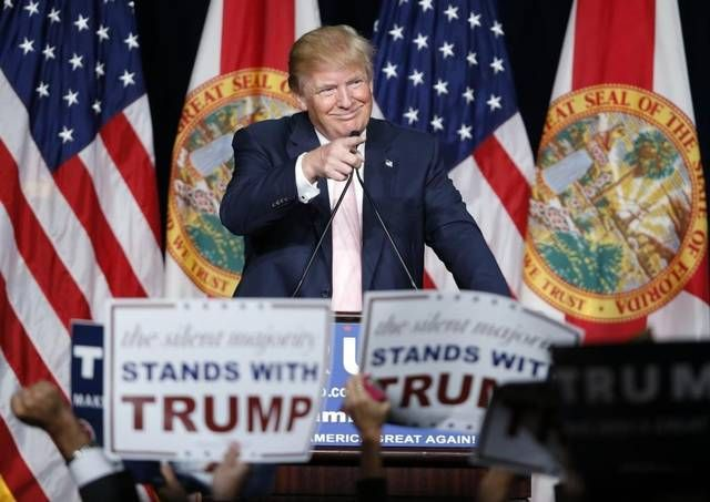 Donald+Trump+to+rally+at+Central+Florida+Fairgrounds+in+Orlando,+Wednesday