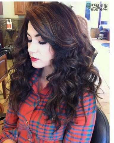 best 25 highlights black hair ideas on pinterest