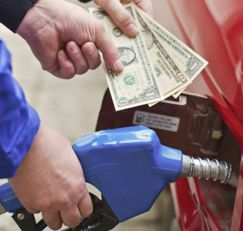 Find the Best Price for Your Gas     Visit the web site www.gasbuddy.com and enter your ZIP code or the ZIP code of the area to which you're traveling. You'll be given a list of local gas stations, along with their current gas prices.