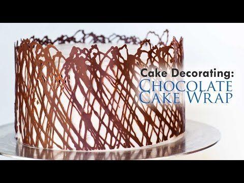 Chocolate Cake Wrap Tutorial - Tatyanas Everyday Food