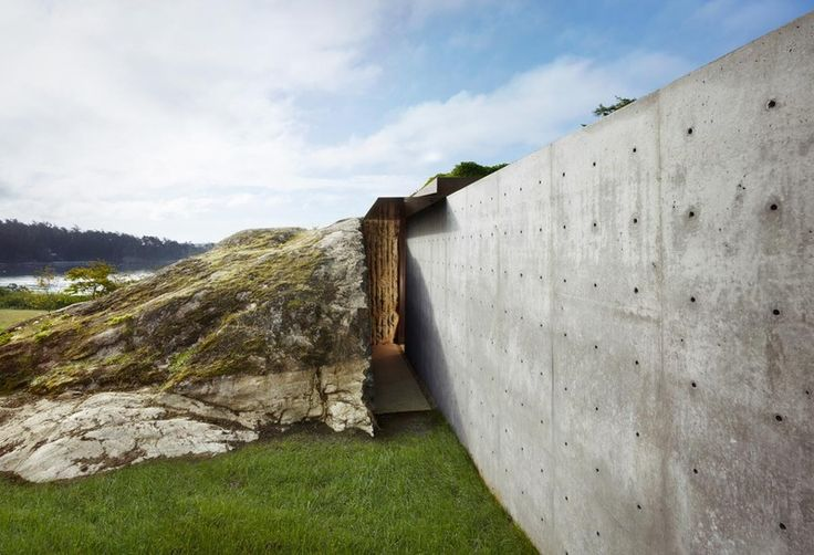 I'm pretty sure this is from The Pierre project. Loving this entry. The Pierre // Tom Kundig