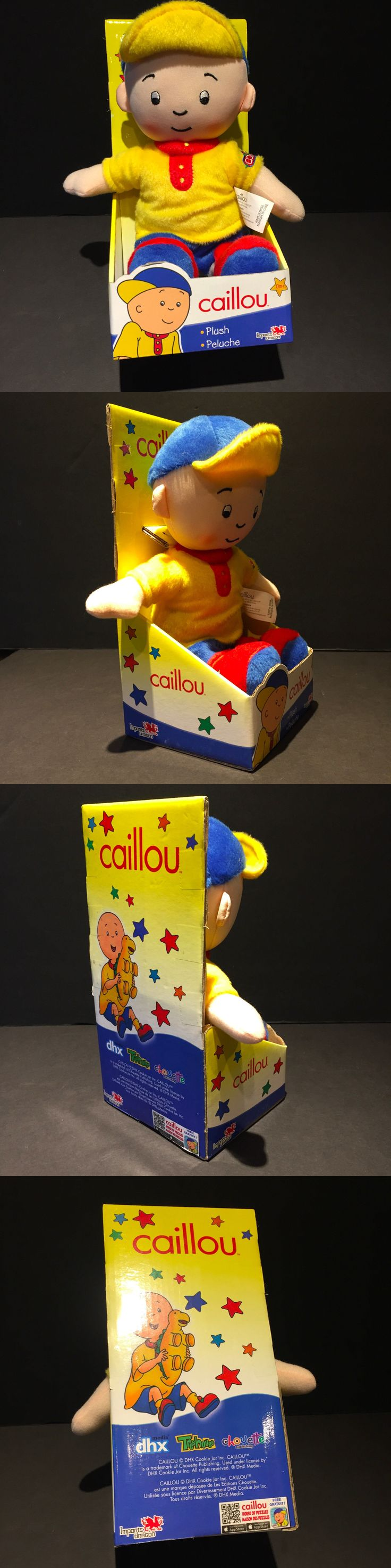 Caillou 20903: Caillou 10 -11 Plush Doll Rare Nos New Misp Soft Face Imports Dragon -> BUY IT NOW ONLY: $99.99 on eBay!
