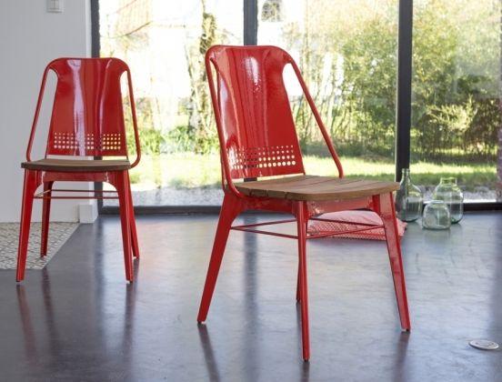 Chaises En M Tal Rouge Sam Fauteuils Chaises Chairs Pinterest Int Rieur Ext Rieur