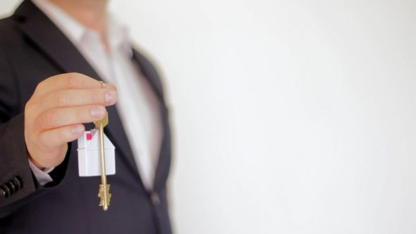 Key To a New Home. Real Estate