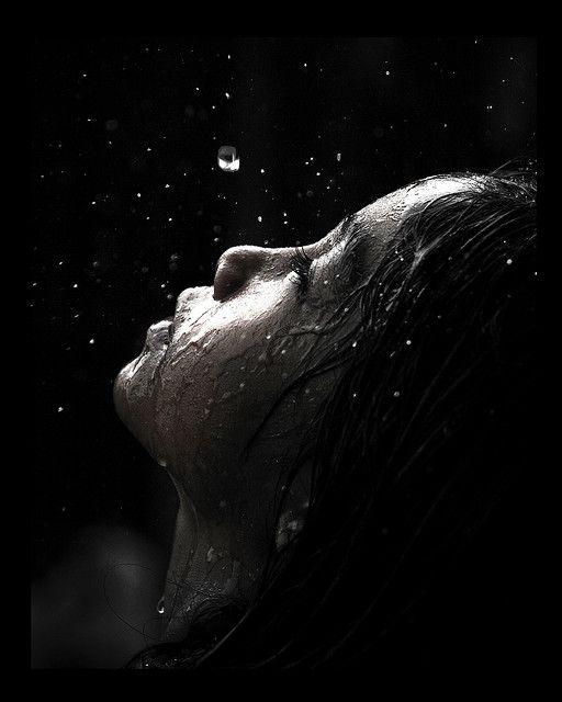 Rain on my face.....by Kris Carlos