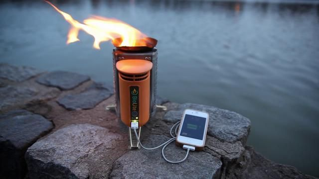 Biolite is a portable campstove that  make cooking with wood as clean safe and easy as modern fuels while also providing electricity to charge cell phones and LED lights off-grid.
