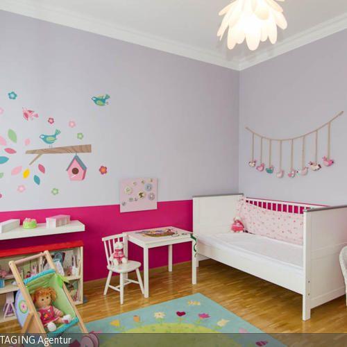 71 besten Kinderzimmer Bilder auf Pinterest Mädchenzimmer - Gestalten Rosa Kinderzimmer Kleine Prinzessin