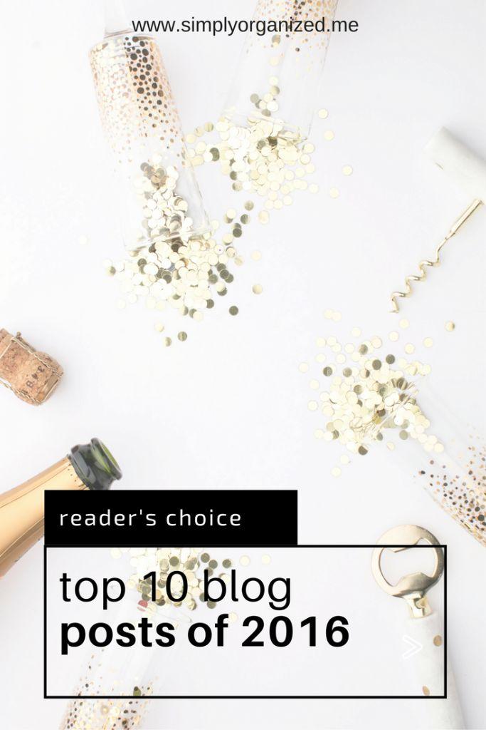Top 10 Reader Choice Blog Posts of 2016