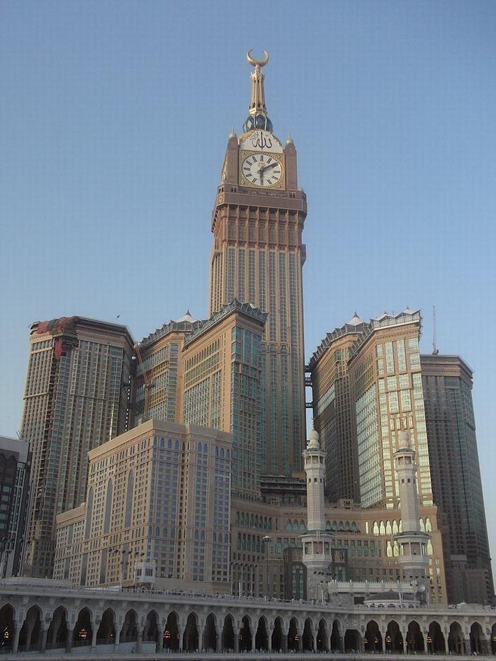 Clocks 3. Makkah Royal Clock Tower Hotel, Mecca, Saudi Arabia
