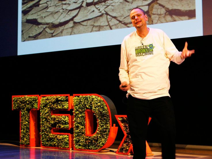 Stephen Ritz: A teacher growing green in the South Bronx via TED
