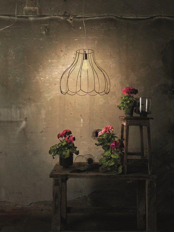Iron pendant LUCILLA by Karman | #design Matteo Ugolini @Karman srl
