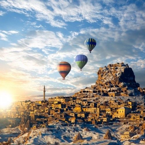 4 Day #Cappadocia, #Pamukkale and #Ephesus Tour from Istanbul by Plane - www.allistanbultours.com/Turkey-Tours/4-Day-Cappadocia-Pamukkale-and-Ephesus-Tour-from-Istanbul-by-Plane