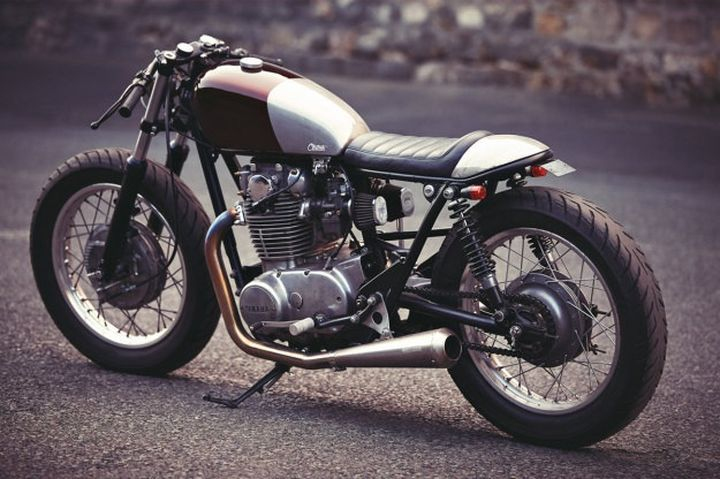 Yamaha XS650 Cafe Racer by Clutch Custom Motorcycles #caferacer #motorcycles #motos | caferacerpasion.com