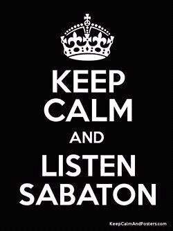 sabaton forever ;) \m/