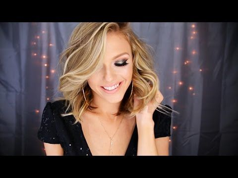 ▶ New Year's Eve Glam | Full Face Look - YouTube