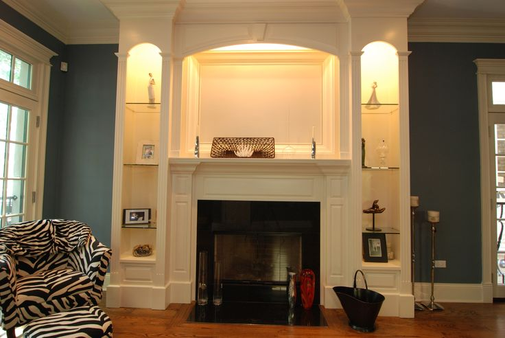 Fireplace Mantle and Surround
