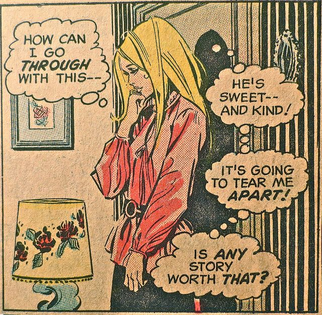 1960s Vintage Comic Book Campy Romance Teen Comics J by Christian Montone, via Flickr