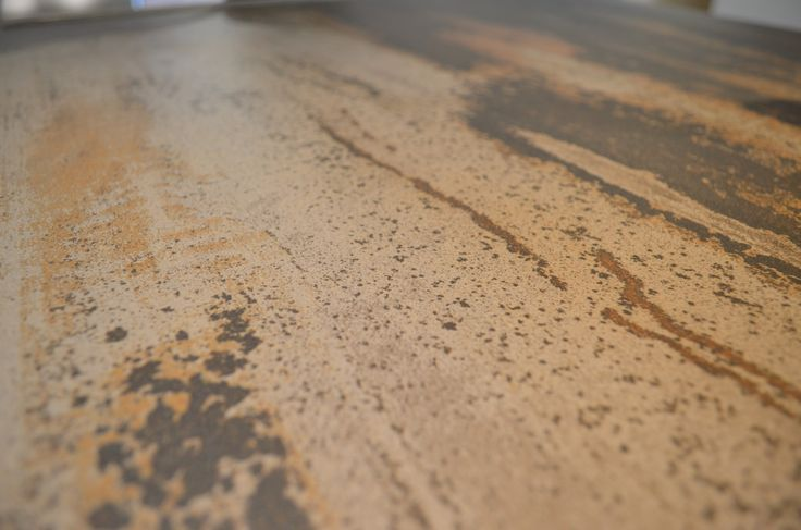 A real cool idea for your kitchen is the Dekton porcelain worktop copper looking, which is heating, stain and scratch resistant.   #heatingresistant #worktops #kitchen #design #bespoke