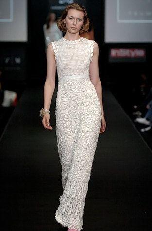 MADE TO ORDER crochet dress via etsy