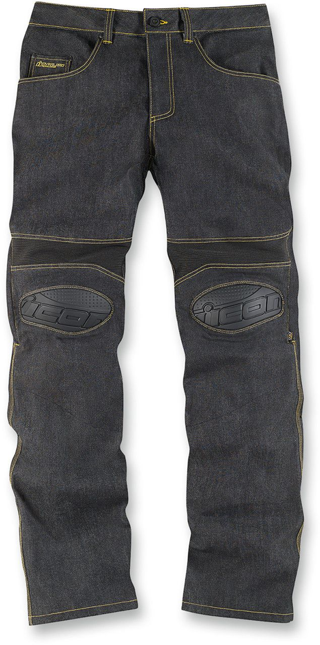 Ministry of Bikes - Icon Overlord Motorcycle Riding Trousers - Dark Indigo, £114.99 (http://www.ministryofbikes.co.uk/icon-overlord-motorcycle-riding-trousers-dark-indigo.html/)