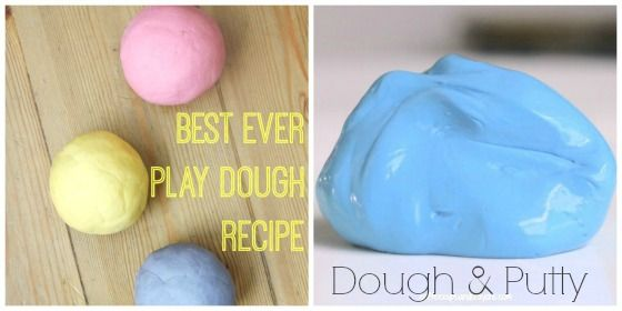 homemade play doughs to make and give
