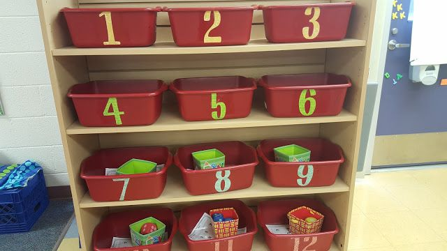 Math Tubs (stations) for early finishers to do while you work with slower students. Only change them once a month.