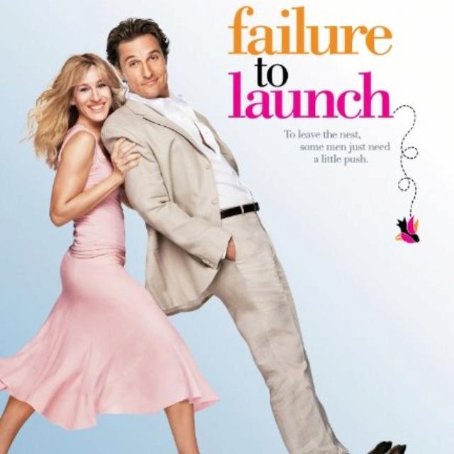 .: Chick Flicks, Failuretolaunch, Funny Movie, Matthew Mcconaughey, Launch 2006, Zooey Deschanel, Favorite Movie, Sarah Jessica Parker, Failure To Launch
