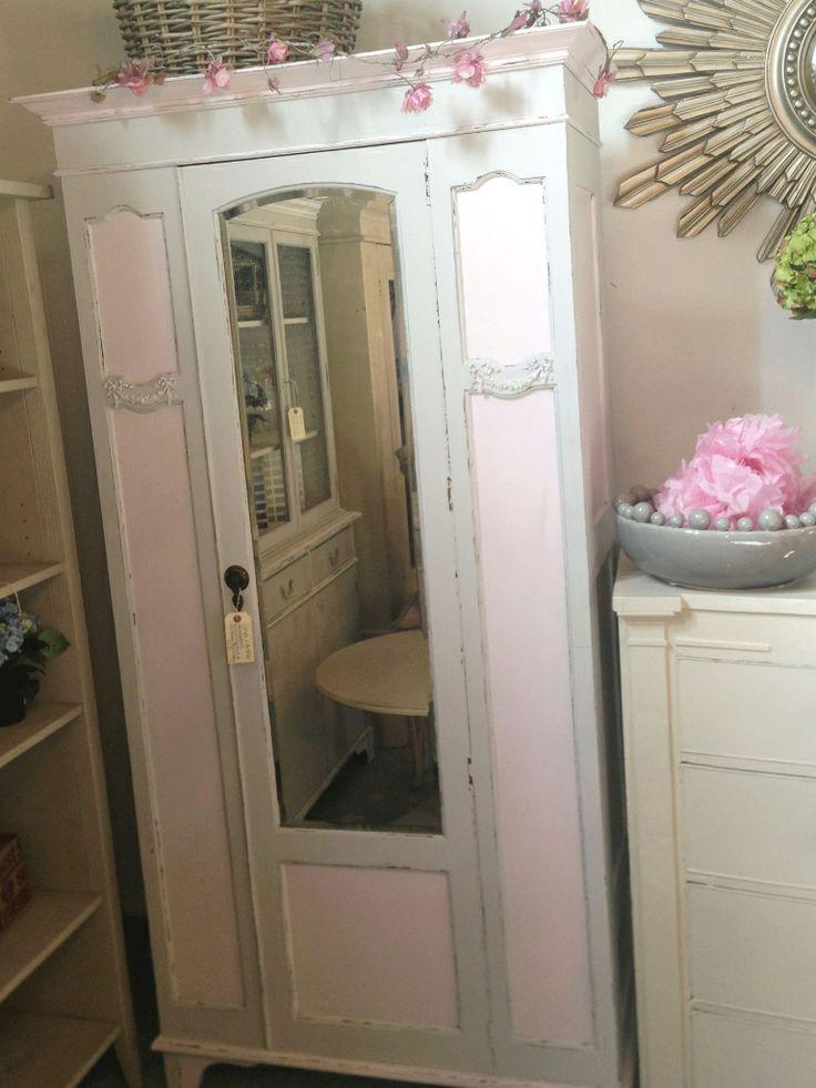 French grey & Middleton Pink wardrobe £220.