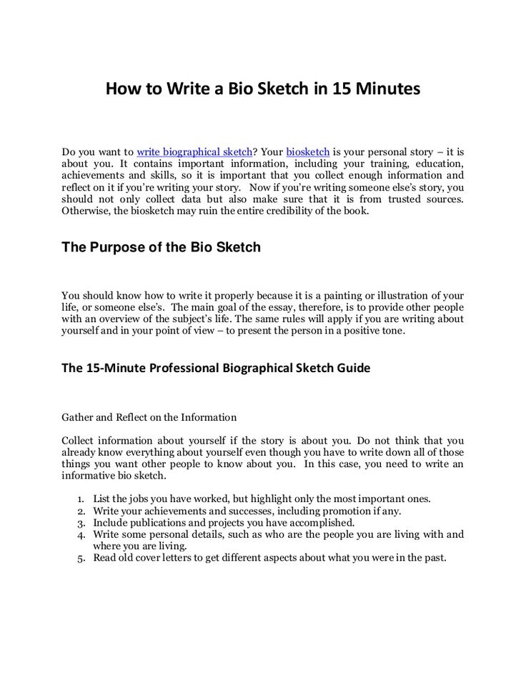 The  Best Autobiography Template Ideas On   Biography