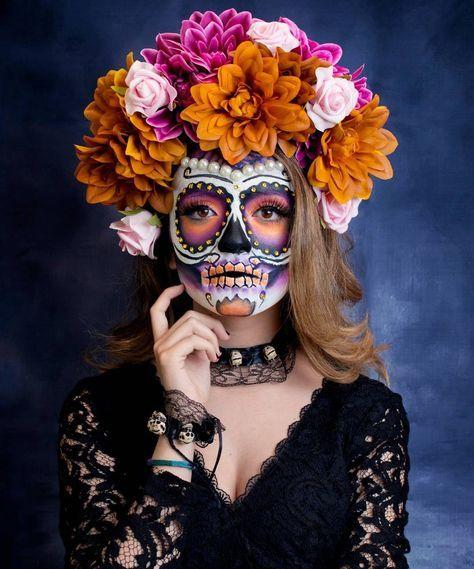12 Ideas lindas de Maquillaje de Catrina
