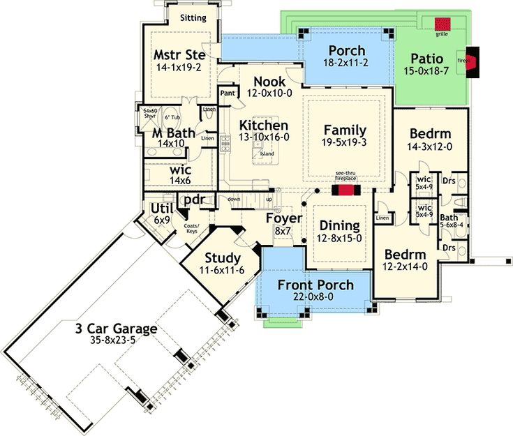 New Look Mountain Retreat - 16860WG | Architectural Designs - House Plans