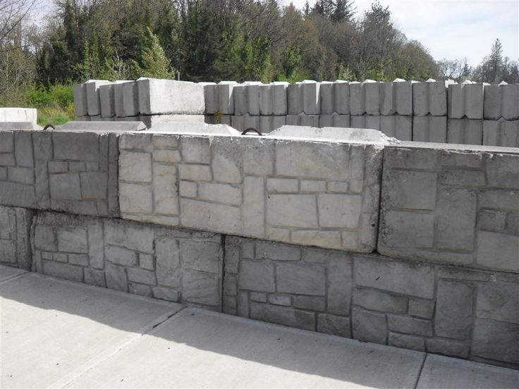 Large Concrete Block Retaining Wall | www.galleryhip.com - The Hippest ...