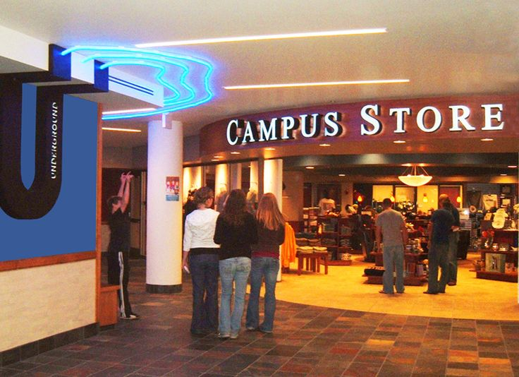 Visual Communications » Bethel University Brushaber Commons The Underground & Campus Store Saint Paul, Minnesota