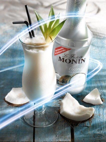 MONIN kávékoktélok - kókuszos kávé - Monin