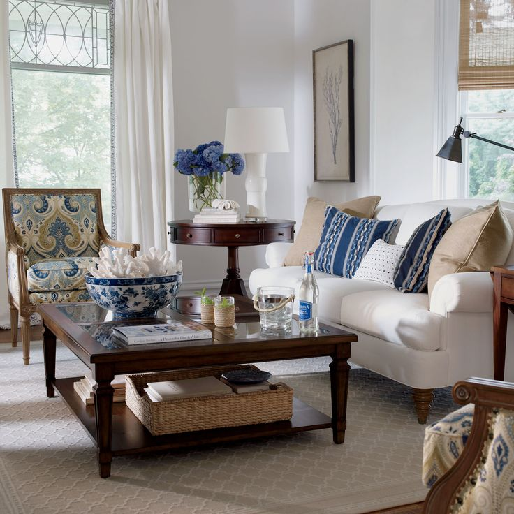Colonial Living Room Pinterest
