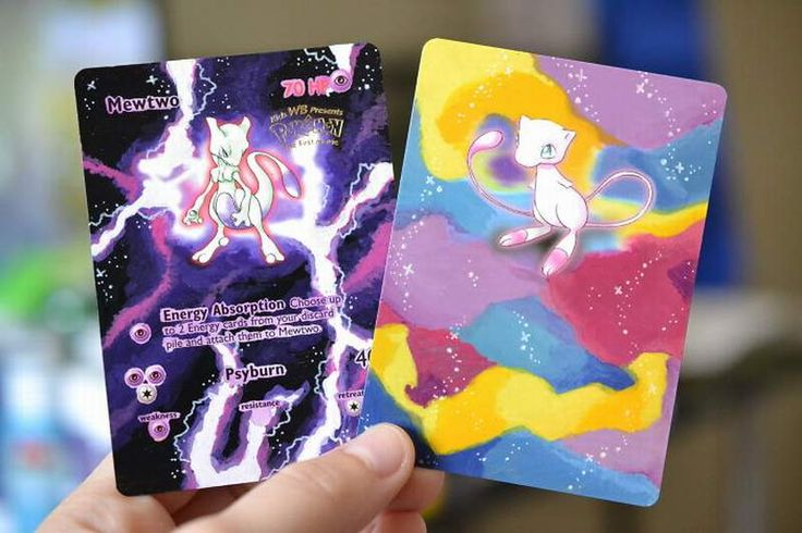 Artist Repainted Old Pokemon Cards To Breathe New Life - http://www.fungur.com/repainting-old-pokemon-cards-life/ http://www.fungur.com/uploads/2017/02/I-Bring-Old-Pokemon-Cards-Back-To-Life-By-Repainting-Them-8.jpg