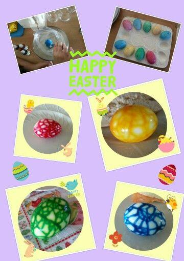 Me & my daughter have tried to make these marble eggs and they looked great!/ Mijn dochter & ik hebben deze marmer eieren geprobeerd te maken en ze zagen er fantastisch uit!