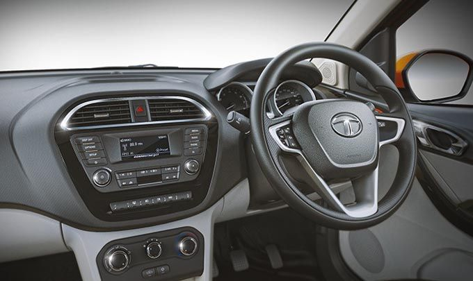 Tata Tiago Interior Dashboard