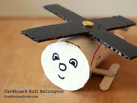 how to make a flying helicopter project