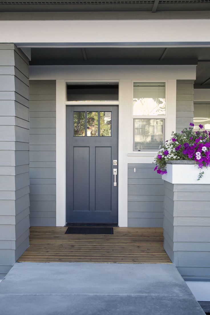 10 Most Popular Front Door Colours In 2018 According To