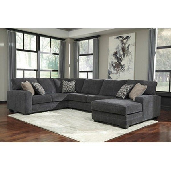 Acanthus Slate 3 Piece Sectional In 2020 Furniture Sectional Furniture 3 Piece Sectional #taft #furniture #living #room #set