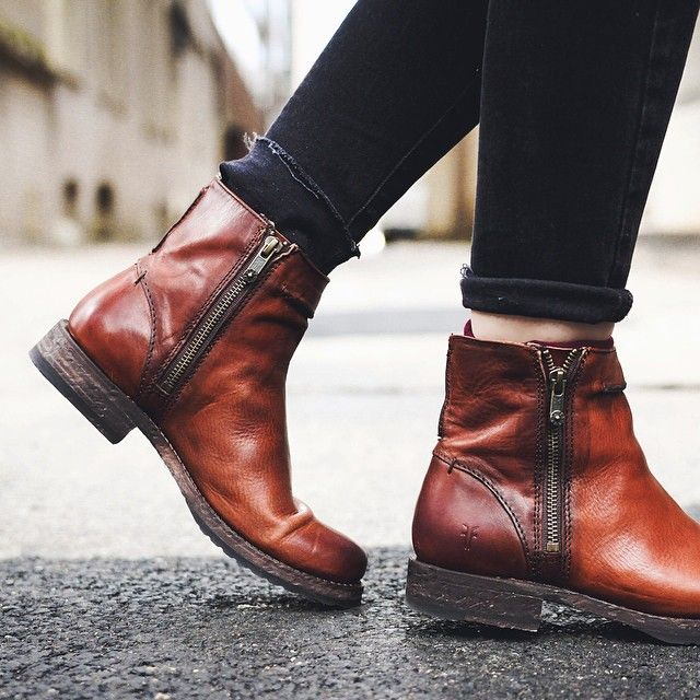"astitchinmind: "" Well, I just love boots. From: http://instagram.com/thefryecompany/ """