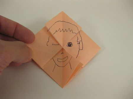 Face Changer Origami. Great filler activity for last week of school or print out instructions and leave in your sub binder!