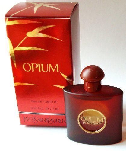 Opium Yves Saint Laurant .25 Oz / 7.5 Ml Edt Mini by Yves Saint Laurant. $26.96. OPIUM MINI. Opium Yves Saint Laurant .25 oz / 7.5 ml edt Mini. Opium Yves Saint Laurant .25 oz / 7.5 ml edt Mini