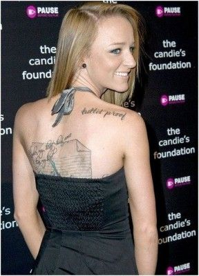 "I love Maci from Teen Mom's ""bullet proof"" tattoo"