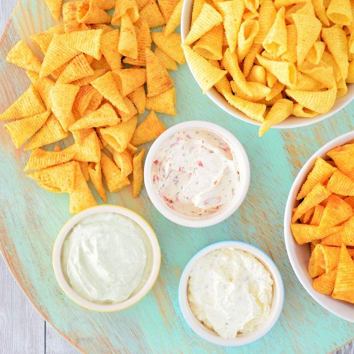 Ook zo gek op de bekende chips hoorntjes? Met deze Bugles vultips zet je gegarandeerd een lekkere borrel op tafel, waar vul jij je Bugles mee?