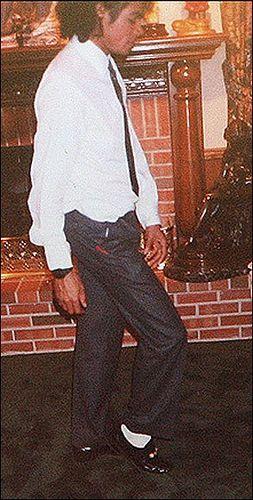 Michael Jackson Hot Moonwalking.