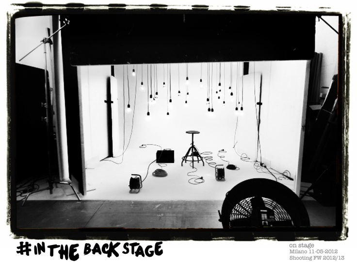 Backstage Calliope FW 2012/13   @Milan 11-05-2012